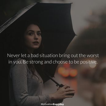 It's okay if the situation right now sucks, but does it mean you have to change with it? No, if it is not changing you for the good, don't change. World outside doesn't have to make you worse, come out stronger and better or don't come out at all.  .  .  .  . #motivation #quote #quotes #quoteoftheday #selfimprovement #thought #teamself #selfhelp #wisdom #creativity #great #follow #motivationalquote #education #instadaily #mindset #inspiration #selfcare #life #motivateyourself #word #cool #amazin