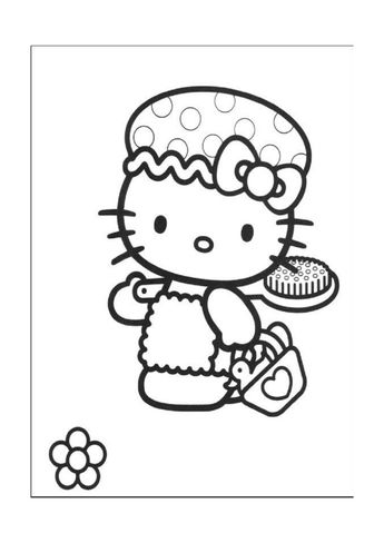 Hello Kitty Coloring Pages Hello Kitty Printable Coloring