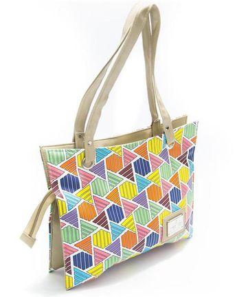 91e1cc66db SS Fashion Ladies Self Design Handbags - HB1011 - Shoulder Bags   Purse for  Ladies