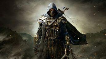The Elder Scrolls Homme Guerrier Armure Capuche Jeux