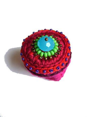 Häkelring  von crochet.jewels auf DaWanda.com