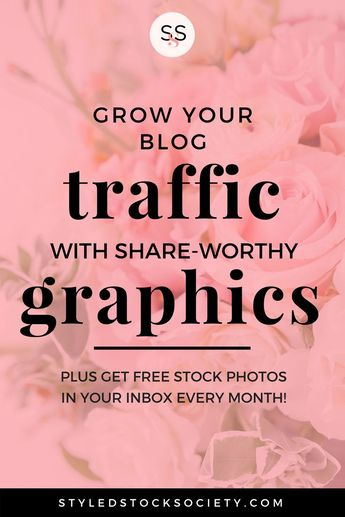 How to Use Styled Stock Photos to Create Share-Worthy Blog Graphics - Styled Stock Society