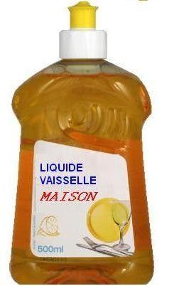 LIQUIDE VAISSELLE MAISON au savon noir