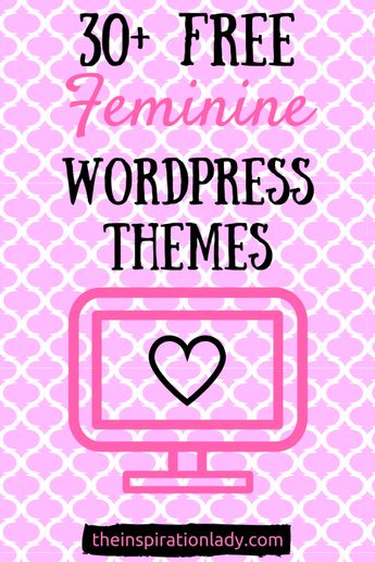 Free Feminine WordPress Themes | The Inspiration Lady