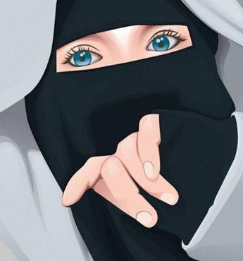 76+ Gambar Animasi Wanita Berhijab Paling Keren
