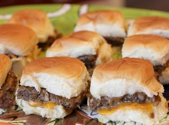 Easy sliders for any game day!