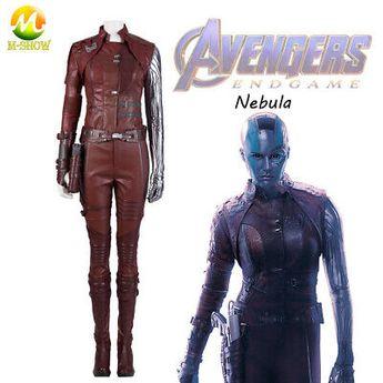 (Sponsored)eBay - Avengers Endgame Cosplay Evil Nebula Costume Halloween Party Costume Nebula Suit