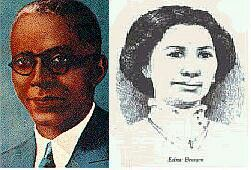 Coleman Love: Frank Coleman, an Omega Psi Phi Founder and Edna Brown Coleman, a founder of Delta Sigma Theta.