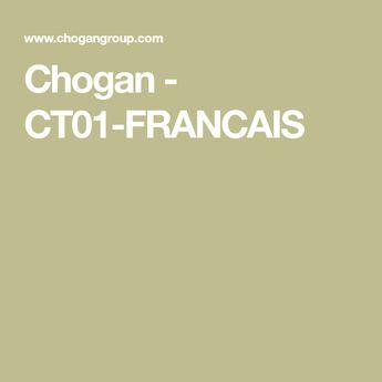 Chogan - CT01-FRANCAIS
