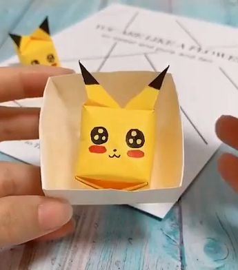 Paper crafts ideas for kids.