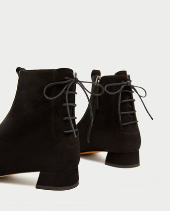 ce506ef872e Office Archive four buckle black leather ankle boots