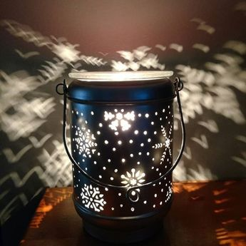 Warmer of the month, Solitude, is on in my home! It is so beautiful! #scentsysnapshot #scentsy #solitude #sopretty