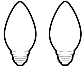 big christmas light bulbs projectsbulletin boards