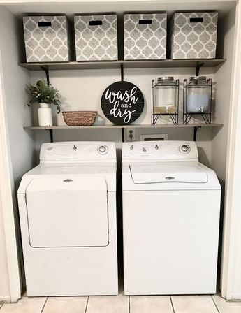 36+ The Ultimate Laundry Closet Makeover Diy Trick 44