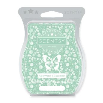 Aloe water and cucumber scentsy bar