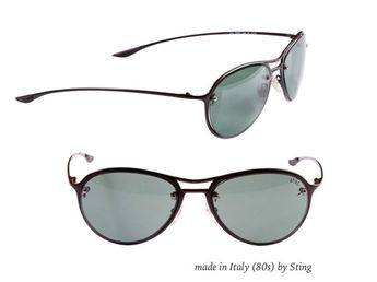 2d04d32e636 Sting aviator sunglasses made in Italy in the 1980s. Add a rare and unique  accessory