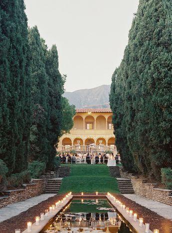 An Elegant Outdoor Wedding in Sierra Madre, California