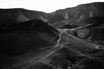 Mountains of the Judean Desert 5 Wall mural