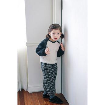 2d0ba89828016 TinyPokke  s selection モフモフラグラントレーナー- 女の子 ニット ざっくりニットセーター - 韓国