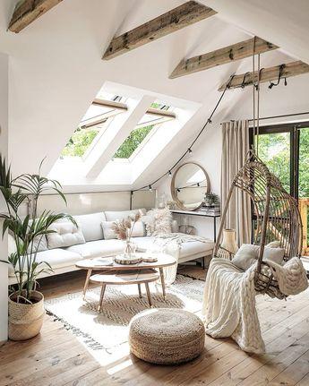 Home Interior Design — Living room in Warsaw, Poland
