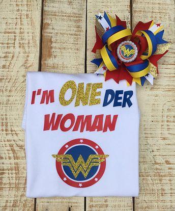 Wonder Woman Inspired Shirt Oneder