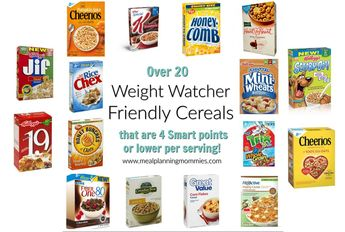 20+ Cereals that are low in Weight Watchers Freestyle Smart Points