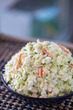 Copycat KFC Coleslaw. Anything they can do, you can do better. Make their recipe at home. It is as yummy as the original and an easy copycat recipe.