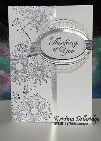 Sympathy Card with A Little Lace & Good Morning Magnolia