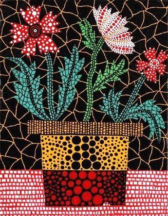 Flowers - Yayoi Kusama