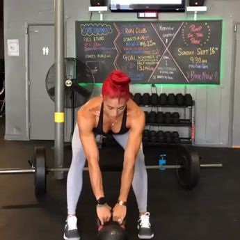 """@hannaheden_fitness Some of my favorite moves to build those #Glutes and strengthen your entire #PosteriorChain Run through this circuit completing 16 reps of each. Take a sip of your @maxeffort #FruitPunch  #AminoRecovery for your """"recovery"""" and then hit it again for a total of 4 sets! FOCUS on engaging the targeted muscle groups, don't just move from point A to B. Move with tension and intent"""