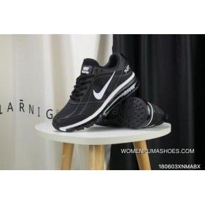 competitive price a1afd 7215f Nike Full-palm Cushion Air Max 2019 Black And White New Style