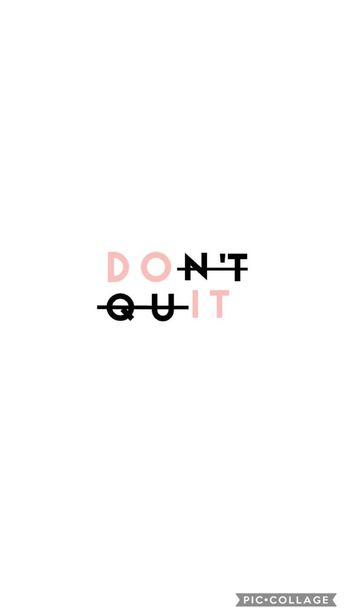 Motivational Quote Wallpaper // Cute Lock Screen