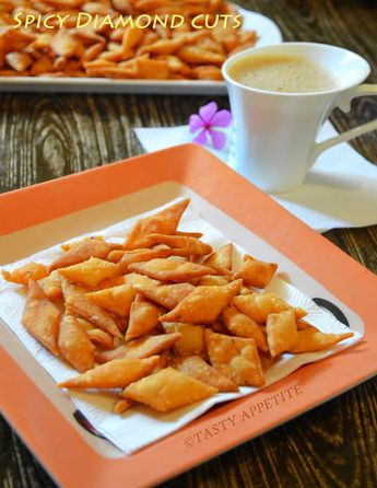 Tasty Appetite: SPICY DIAMOND CUTS RECIPE / SAVORY MAIDA BISCUITS / DIWALI SNACKS RECIPE