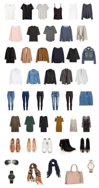 My dream one year capsule wardrobe