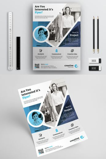 Corporate Business Flyer Template Corporate Identity Template #70964