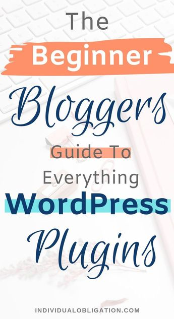 The Beginner Bloggers Guide To Everything WordPress Plugins