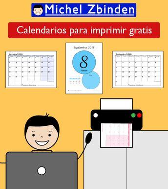 Calendario Michel Zbinden.Michel Zbinden Free Printable Calendars Website Choose Fr