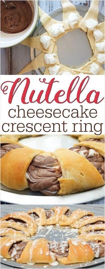 Nutella Crescent Ring