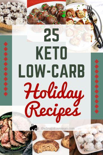 25 Keto Holiday Recipes