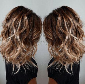Les plus jolis balayages cheveux