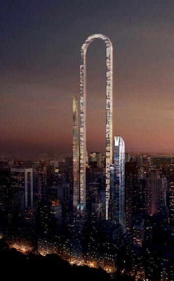 Le ciel de Manhattan bientôt décoré par le plus grand gratte-ciel du monde ? Le projet fou et impressionnant du Big Bend