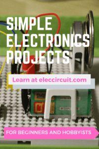 Simple LED music light circuit | ElecCircuit.com