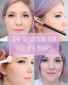 How to Contour Your Face In Five Minutes