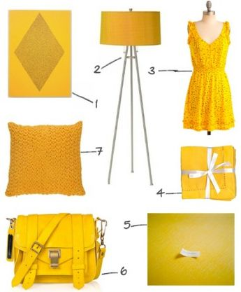 color of the week: marigold.