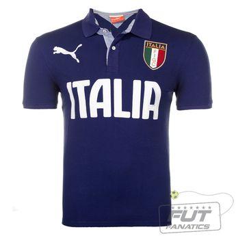 da694248d13d2 Polo Puma Itália SS - Fut Fanatics - Compre Camisas de Futebol Originais  Dos Melhores Times