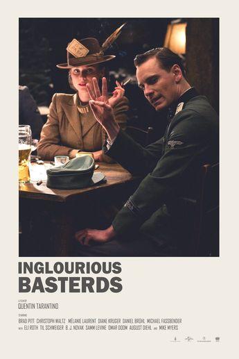 Inglorious Basterds - Minimalist poster
