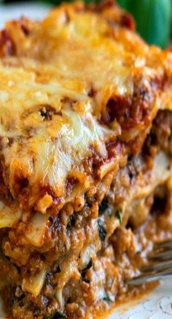 Classic Lasagna see notes use 16-24 oz ricotta, let set 30 min!! Use shredded mozz instead of fresh!!