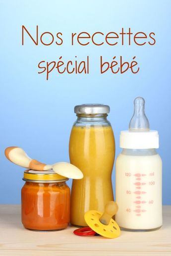 Purées, compotes, découvertes des légumes et desserts de bébé, retrouvez sur enfant.com nos idées recettes pour la diversification de votre bébé et l'éveiller au goût.