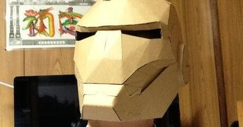 To make this really cool papercraft project you will need nine sheets of paper in A4 format or three sheets of paper in A3 format. Tomowo,...