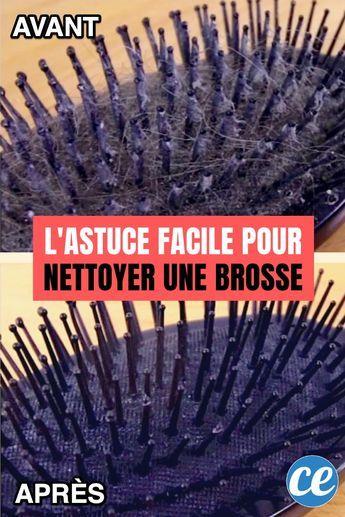 2 Astuces Faciles Pour Nettoyer Une Brosse à Cheveux TOUTE GRASSE.